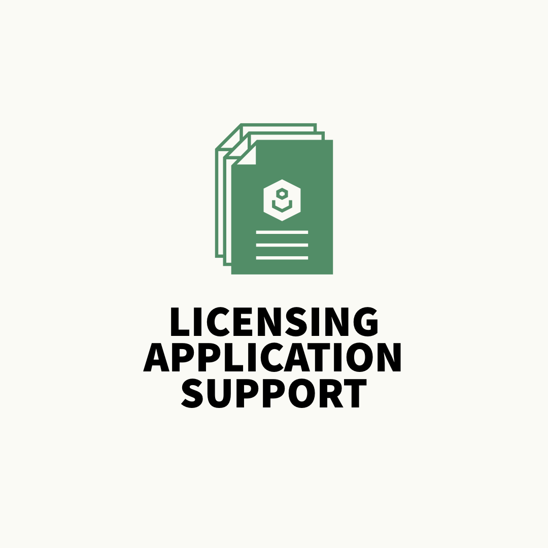 dog business licensing application support