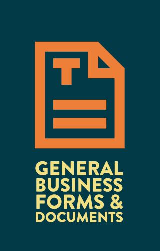 Dog Business general business forms