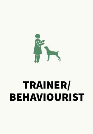 Dog Business trainer / behaviourist card
